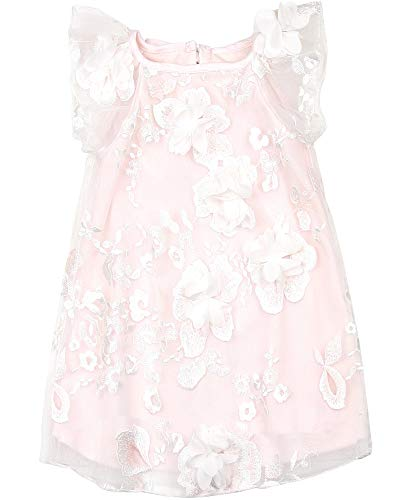 - Biscotti Girls' Blooming Romance Tulle Dress in Pink, Sizes 2-12 - 4