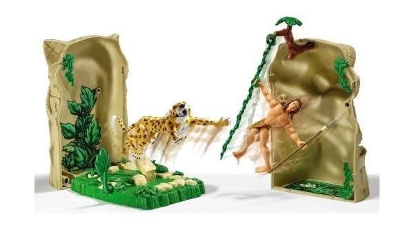 Figuras Tarzan - Cazadores - Colección: Amazon.es: Juguetes y juegos