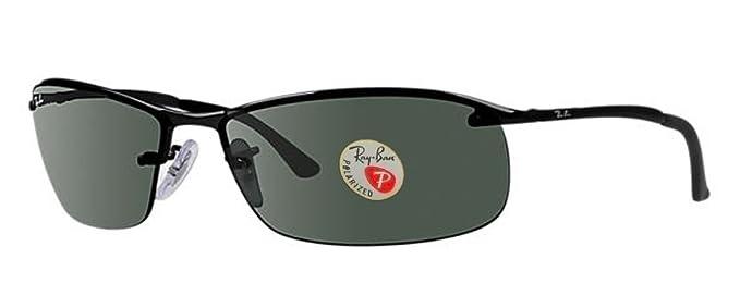 732be8b502 Amazon.com  Ray-Ban Men s RB3183 Sunglasses (Black Frame