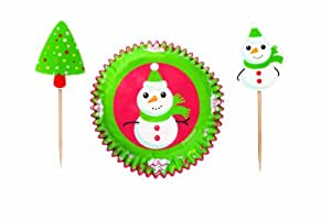 Wilton Holiday Frosted Fun Cupcake Combo Pack, 24 Count