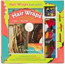 Hair Wraps Book & Kit (Hair Wrap Kit)