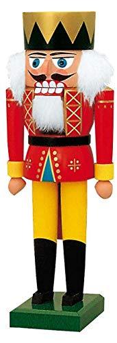 KWO King German Christmas Nutcracker 10 Inch Decoration Handcrafted in Germany (Nutcracker German Kwo)