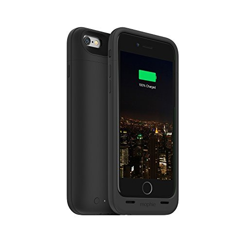 Mophie Juice Pack Plus - Protective Mobile Battery Pack Case for iPhone 6/6s - Black (Certified Refurbished) by mophie