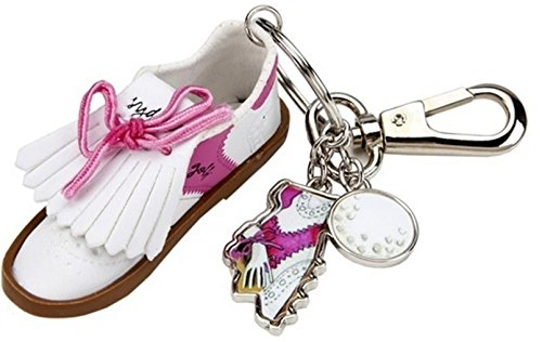 sydney-love-sport-golf-shoe-w-charms-keyhain-purse-charm-white-pink