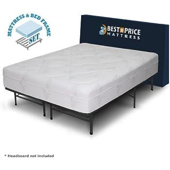 best price mattress 12 grand memory foam mattress new innovative box spring platform metal bed framefoundation king - Bed Box Frame