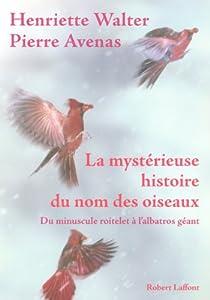 La mystérieuse histoire du nom des oiseaux par Avenas