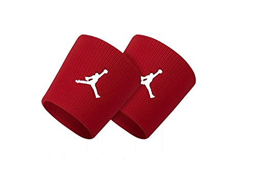 - NIKE Jumpman Wristbands 2PK Red OSFA