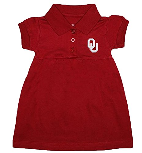 Creative Knitwear Oklahoma Sooners NCAA Newborn Baby Two Piece Dress W/Bloomer (3-6 Months) (Oklahoma Sooners Infant Two Piece)