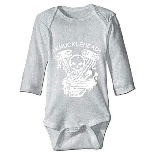 - YSKHDBC Baby Infant Boys Girls Fun Print Bodysuit Knucklehead Engine