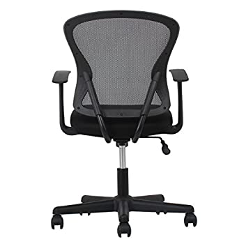 Essentials Swivel Mesh Task Chair With Arms - Ergonomic Computeroffice Chair (Ess-3011) 10