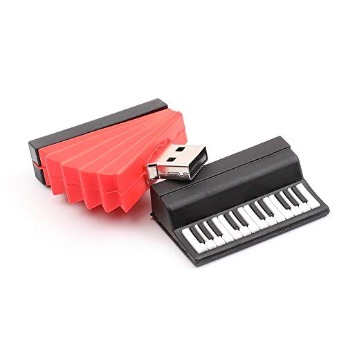 Novelty Accordion USB2.0 Flash Drive Memory Data Storage Mini U Disk (32GB) from Vipeco