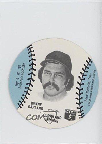 Wayne Garland (Baseball Card) 1977 MSA Discs - [Base] - Burger Chef #WAGA