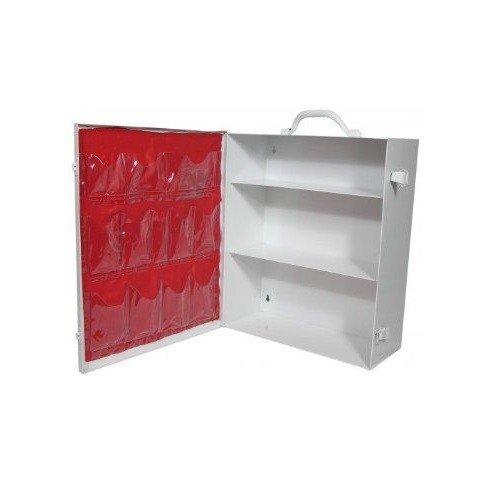 Radnor Empty Three-Shelf 25 Person Industrial First Aid Cabinet
