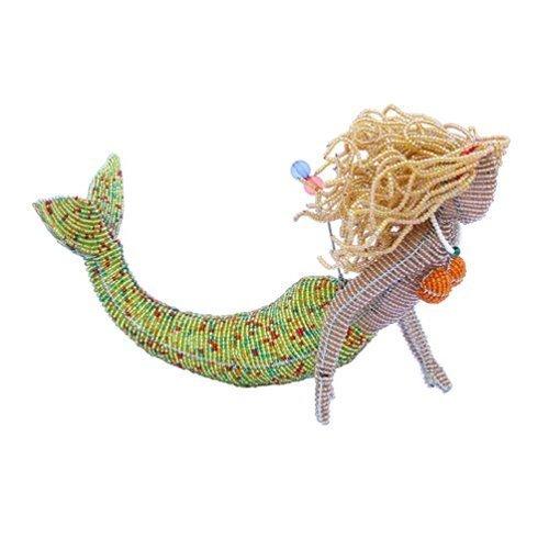 Beadworx Grass (Grass Roots Creations Blonde Mermaid Beadworx Sculpture by Grass Roots Creations)