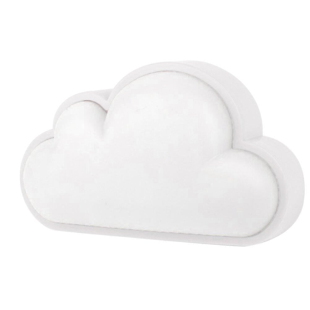 loveniteクラウドライトセンサーナイトライトfor Baby Nursery子、インテリジェントLED壁ランププラグin forベッドサイドベッドルーム廊下 ホワイト Cloud-blue B076GY56Z9  ホワイト