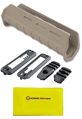 Magpul MAG491 MAG 491 MOE Flat Dark Earth Tan + MAG402 MAG 402 MOE Black + Ultimate Arms Gear Gun Silicone Cloth