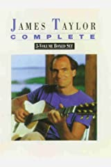 James Taylor -- Complete (Boxed Set): Boxed Set (Piano/Vocal/Chords), Book (Boxed Set) Paperback