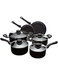 AmazonBasics 10-Piece Nonstick Cookware Set