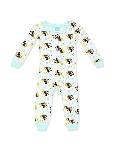 729dc9ae0 Disney Baby Boys Mickey Mouse Cotton Non-Footed Pajama