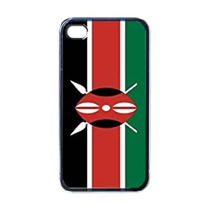 amazon phone cases for iphone 4 kenya flag black iphone 4 iphone 4s 18284