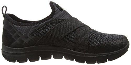 Skechers Flex Appeal 2.0new Image, Zapatillas Mujer, , Negro (Bbk)
