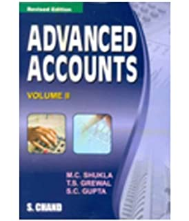 Advanced Accounts (Volume - 2) 18 Edition price comparison at Flipkart, Amazon, Crossword, Uread, Bookadda, Landmark, Homeshop18