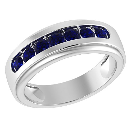 Sterling Silver Orchid - Orchid Jewelry Sterling Silver Father's Day Sapphire Ring
