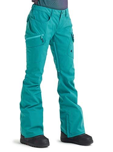 (Burton Women's Women's Gloria Insulated Pant, Green-Blue Slate, Large)