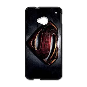 Superman HTC One M7 Cell Phone Case Black haam