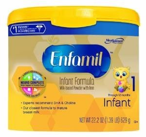 Enfamil Premium Infant Pwdr Size: 22.2 Oz (4 tubs) by Enfamil
