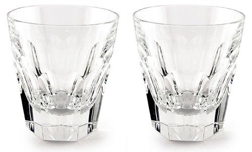 (Baccarat Crystal HARCOURT 1841 OLD FASHION #2 BOXED SET OF)