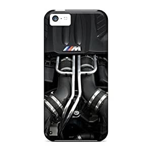 GAwilliam Scratch-free Phone Case For Iphone 5c- Retail Packaging - Bmw V8 Biturbo
