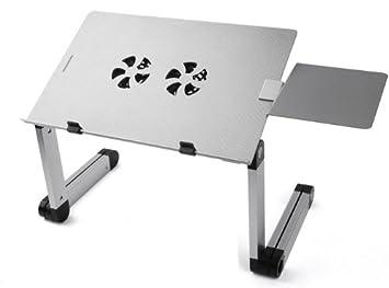 Lavolta table de lit pour ordinateur portable pliable - Table de lit avec plateau inclinable pour ordinateur portable ...