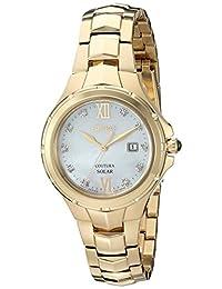 Seiko Women's SUT310 Analog Display Japanese Quartz Gold Watch
