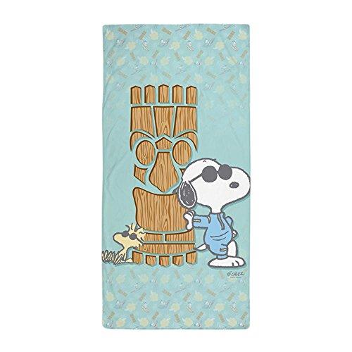 "CafePress - Snoopy Tiki - Large Beach Towel, Soft 30""x60"" To"