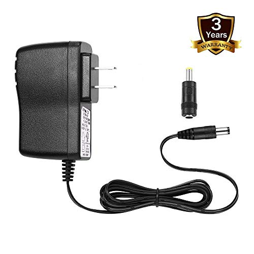 STRIVY 9.5V AC/DC Adapter for Casio Keyboard Power Cord ADE95100LU ADE95100B AD-E95100L Power Adapter SA-46 SA-47 SA76 SA-77 SA-78 LK-120 LK-125 LK-127 LK-160 LK-165 LK-240 LK-247 LK-280 CTK-240