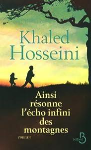 vignette de 'Ainsi résonne l'écho infini des montagnes (Khaled Hosseini)'
