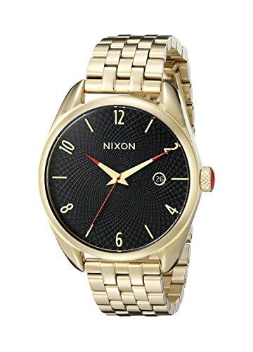 Nixon Women's A418510 Bullet Analog Display Analog Quartz Gold Watch