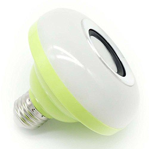 GAIHU Smart Led Wireless Bluetooth Speaker Bulb-E27 Screw Colorful Speaker Light,Green by GAIHU