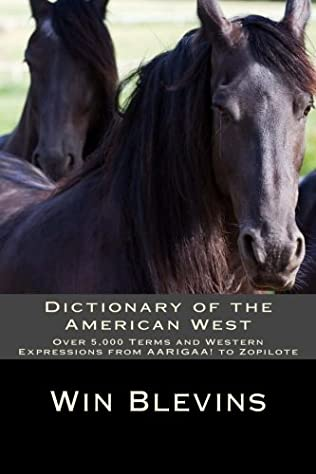 book cover of Dictionary of the American West