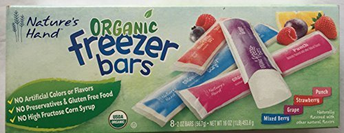 Nature S Hand Organic Freezer Bars