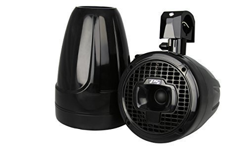 Power Sports Sport6B 6-Inch Marine Wakeboard Tower Speakers (Black)