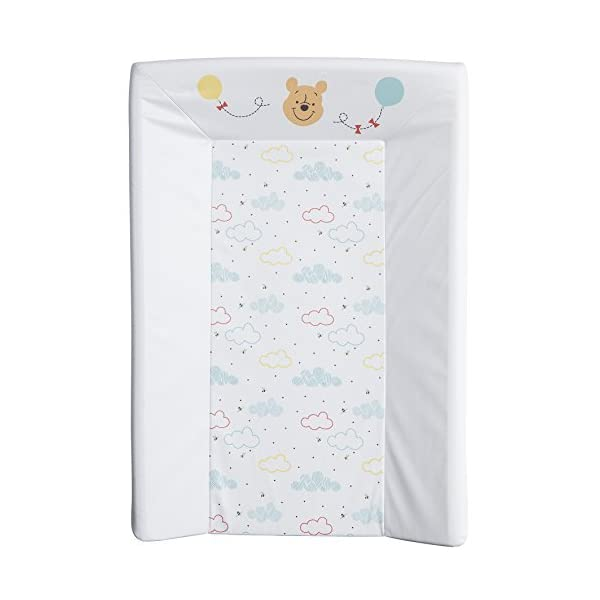 BabyCalin DIS510801 Mat Wechseln, 50cm x 70cm, Disney Winnie Hallo Funshine, mehrfarbig, 1 Stück, DISNEY BABY 2