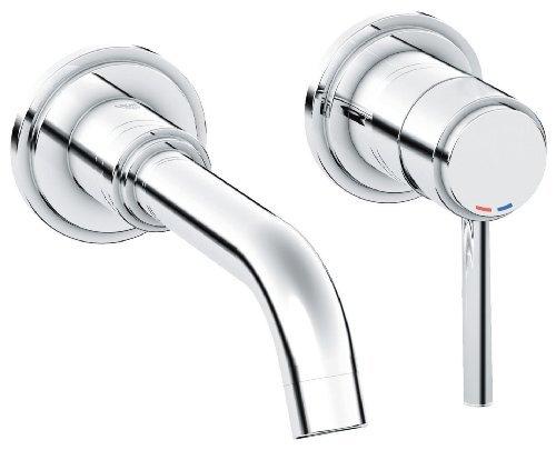 Atrio Single-Handle 2-Hole Wall Mount Vessel Bathroom Faucet - 1.5 (Chrome Atrio Single)