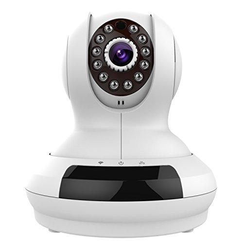 Edeep Wifi Wireless Ip Camera HD 720P Security Surveillance Cameras Video Monitoring Pan Tilt with Two Way Audio
