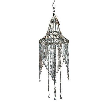 Amazon.com: Blanco Seashell – Lámpara de techo con brazos en ...