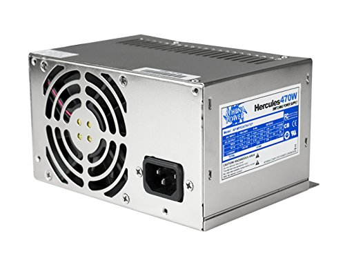 Athena Power AP-MPS3ATX47EP Hercules 470W Micro PS3 20+4Pin EPS-12V Power Supply by Athena