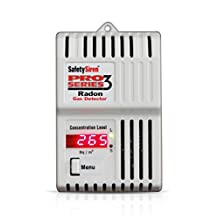 HSafety Siren S79712 Pro Series 3 Radon Gas Detector Canadians Version
