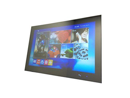 """GlassTek Inc. 43"""" Android Smart TV Mirror; Magic Mirror with Android OS"""