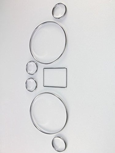 Amazoncom Ormax Brand New Chrome Dash Gauge Ring Set For Audi A6